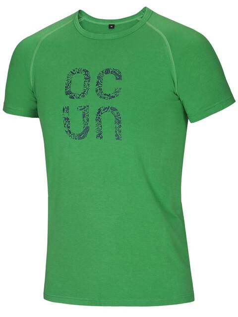 Ocun Bamboo Gear - Camiseta manga corta Hombre - verde